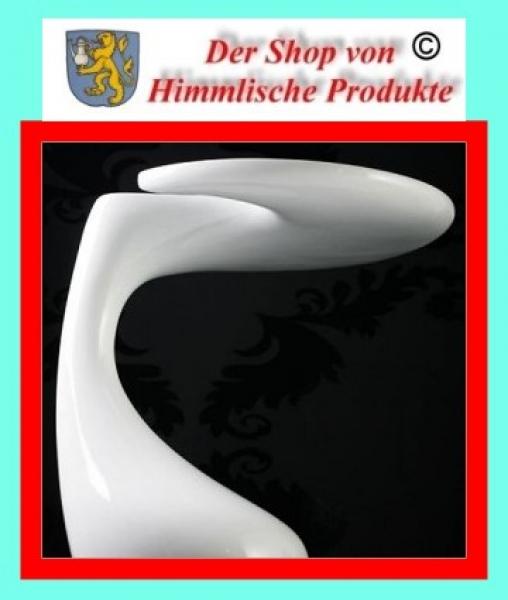 amstyle design beistelltisch couchtisch flow table weiss. Black Bedroom Furniture Sets. Home Design Ideas