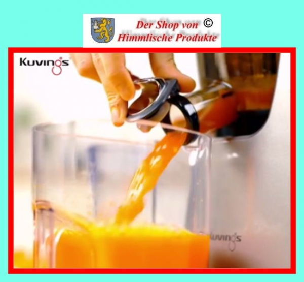 Kuvings Slow Juicer Ice Cream : Kuvings Whole Slow Juicer C9500