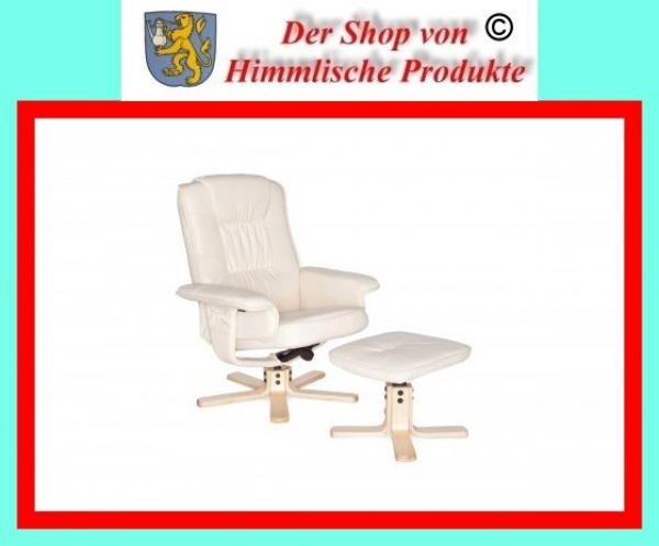 Amstyle comfort tv fernsehsessel relaxsessel beige creme for Tv fernsehsessel