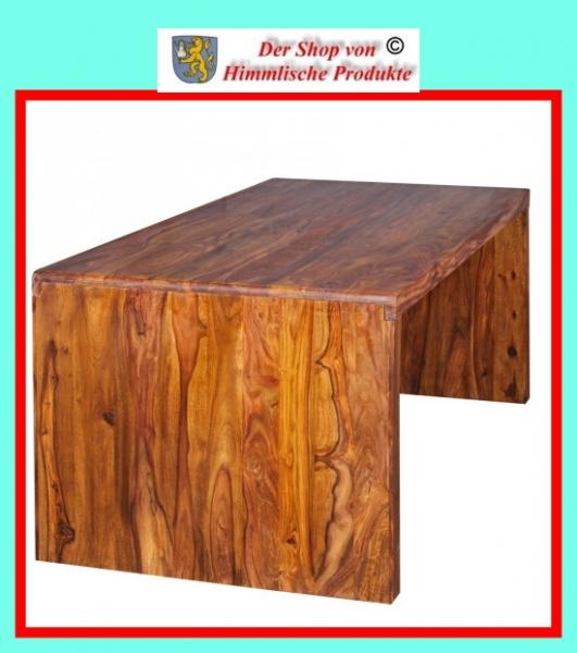 Wohnling Schreibtisch Boha Massiv Holz Sheesham Computertisch 180 Cm