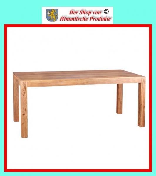 wohnling design esstisch massiv 180 x 80 x 76 cm akazie massivholz fsc zertifiziert. Black Bedroom Furniture Sets. Home Design Ideas