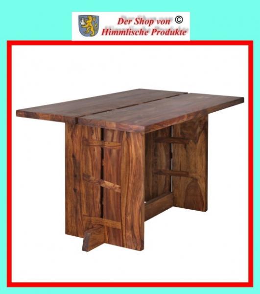 wohnling design esstisch massivholz sheesham k chentisch. Black Bedroom Furniture Sets. Home Design Ideas