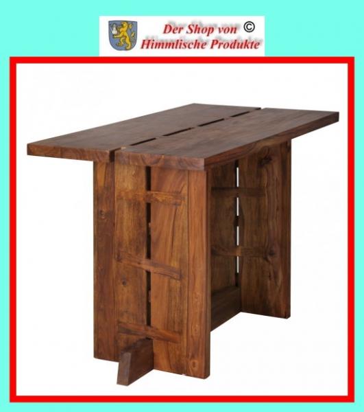 wohnling design esstisch massivholz sheesham k chentisch 118 x 60 cm fsc zertifiziert. Black Bedroom Furniture Sets. Home Design Ideas
